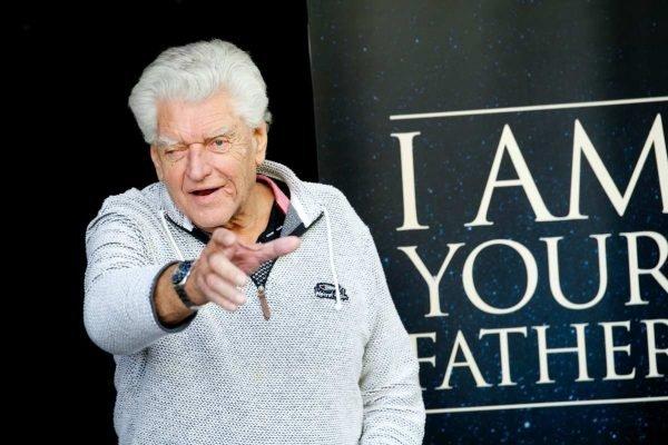 Morre David Prowse, intérprete de Darth Vader, aos 85 anos
