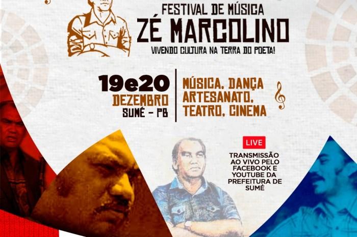 II Festival Zé Marcolino acontece neste final de semana com transmissão pela internet