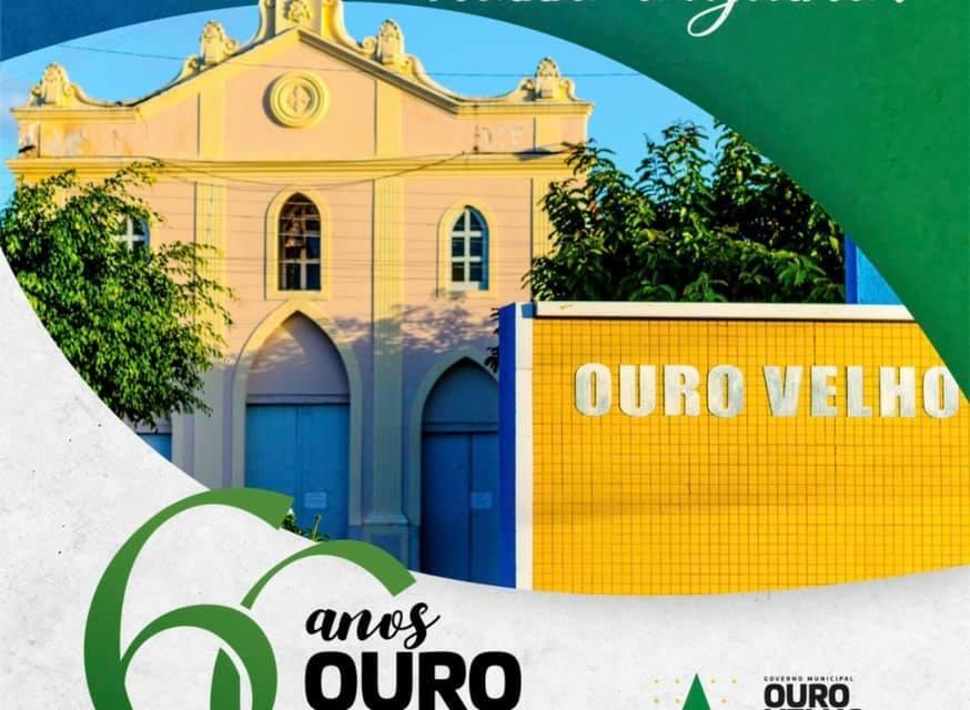 Município de Ouro Velho, no Cariri, completa 60 anos de emancipação política