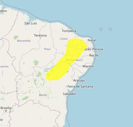 Inmet coloca cidades do Cariri paraibano sob alerta de baixa umidade