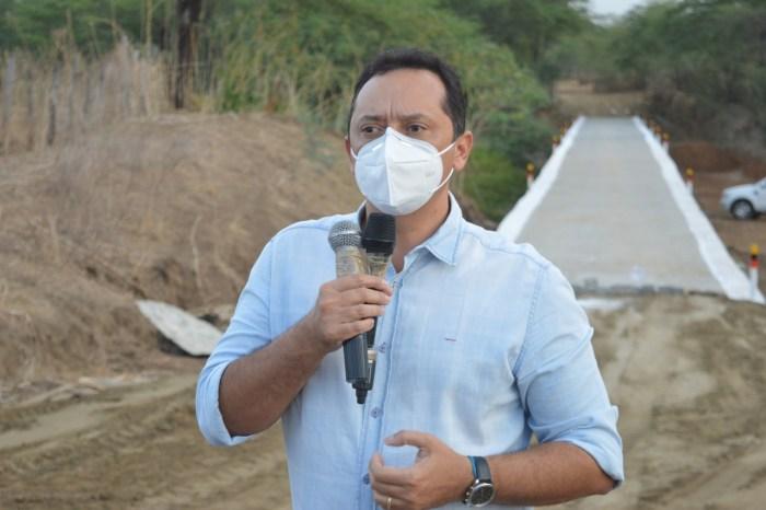 Prefeitura de Sumé entrega mais uma Passagem Molhada a zona rural do município