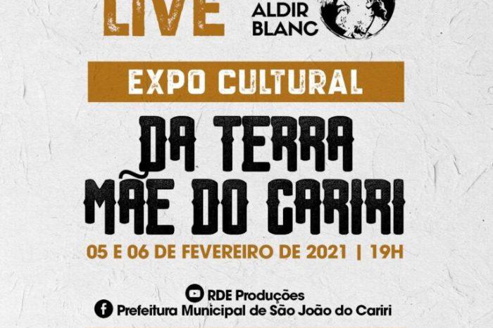 Expo Cultural da Terra Mãe do Cariri começa nesta sexta e reúne vários artistas em São João do Cariri