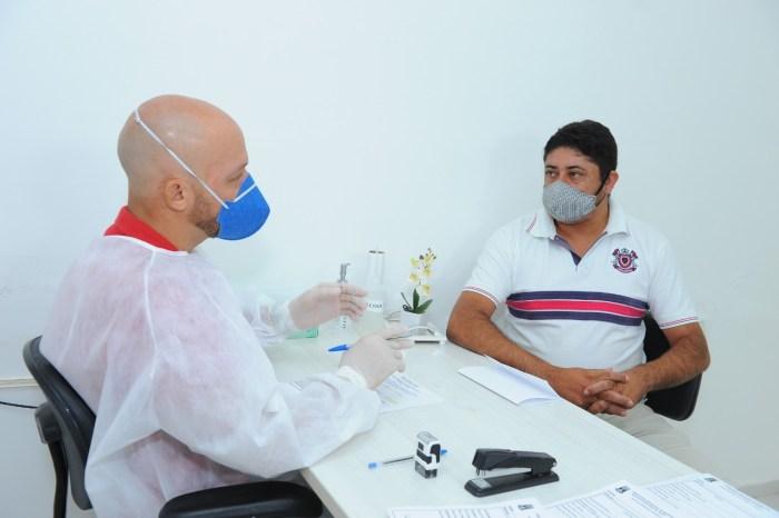Prefeitura de Monteiro realiza testes de covid para professores da Rede Municipal