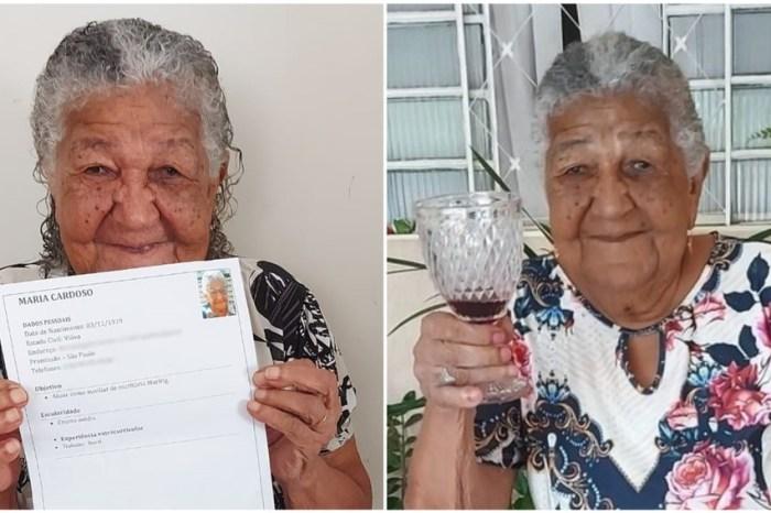 Idosa de 101 recebe proposta para ser 'influencer' de marca de vinhos