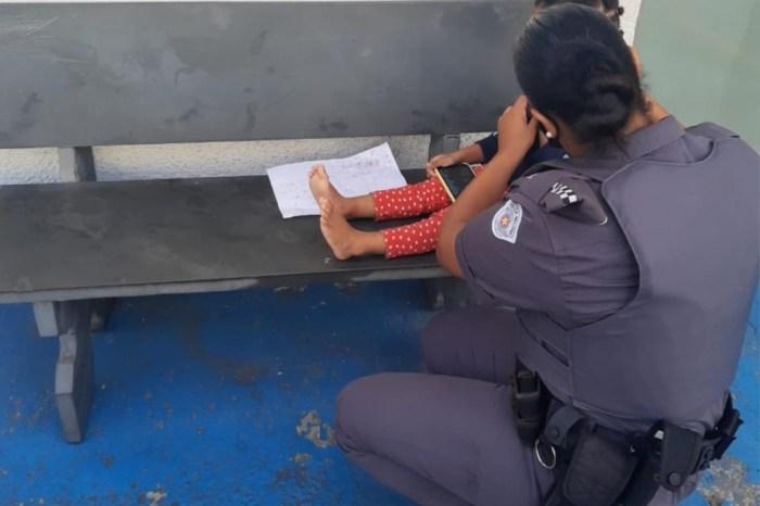 Polícia encontra criança de três anos presa dentro de um barril em SP