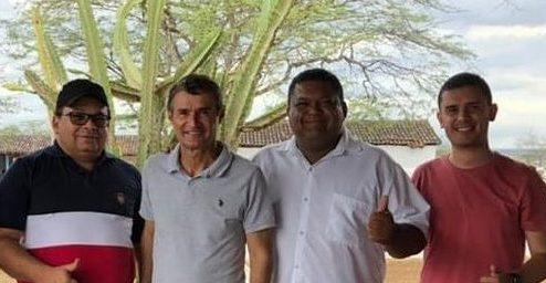 Pré-candidato ao Governo, Romero Rodrigues visita Boqueirão e se reúne com lideranças