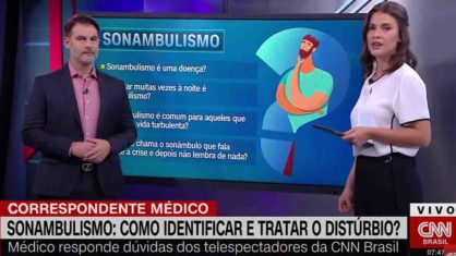 Âncora da CNN Brasil cai em pegadinha e cita 'Deide Costa' ao vivo