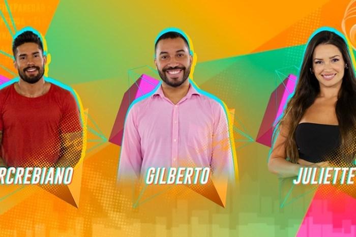 Paraibana Juliette está no paredão do BBB com Arcrebiano e Gilberto