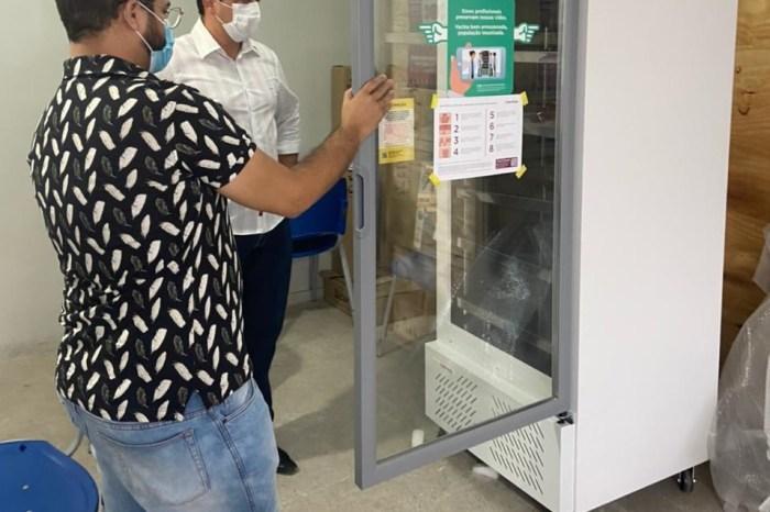 Prefeitura de Sumé adquire Câmaras de Refrigeração para sala de vacinas da covid-19