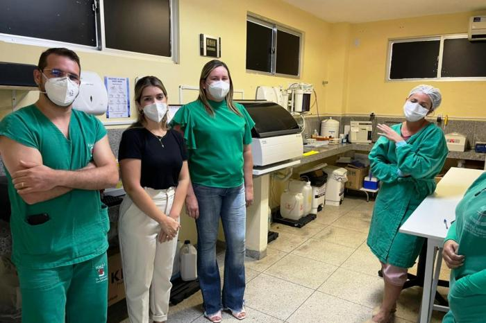 HRSF recebe da Prefeitura de Monteiro equipamento que otimiza tratamento de pacientes com Covid