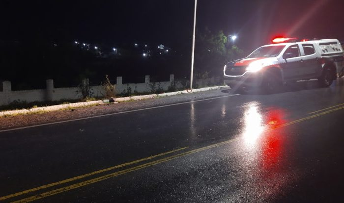 Idoso morre ao ser atropelado por caminhão na entrada da cidade de Boqueirão