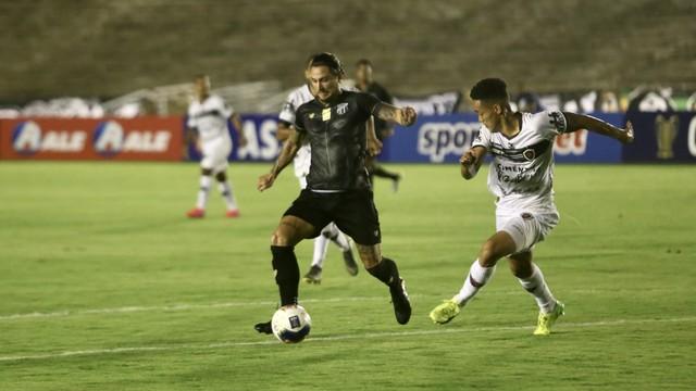 Ceará perde pênalti e fica no empate com Botafogo-PB