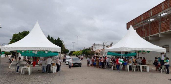 COVID-19: Prefeitura de Serra Branca conclui mais uma etapa de vacinação