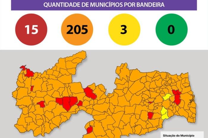Paraíba tem a maior participação percentual da bandeira vermelha