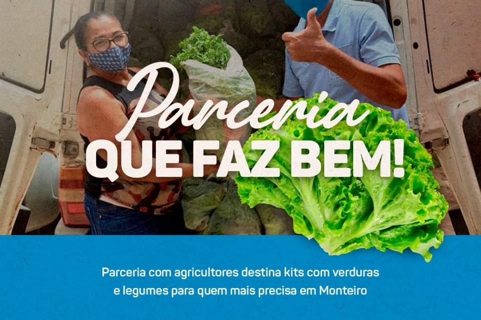 SMDS de Monteiro continua distribuição de queijo, verdura e iogurte nas comunidades rurais