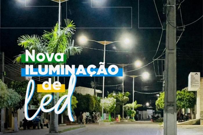 Ouro Velho: Nova iluminação traz mais segurança para a população e economia aos cofres públicos