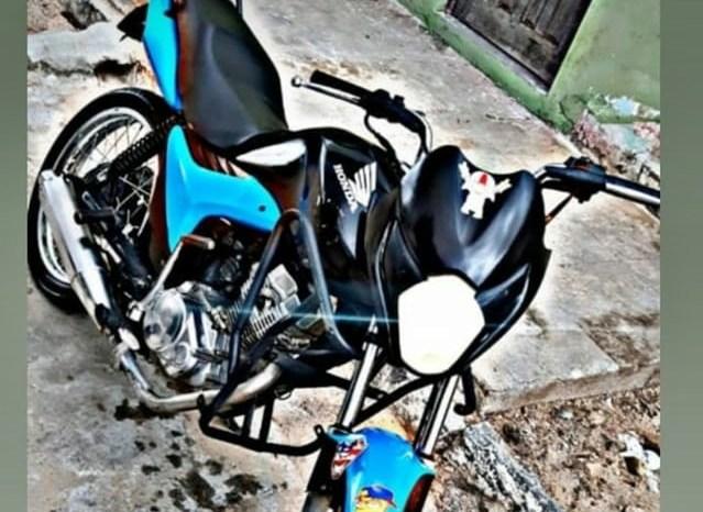 PM recupera moto roubada na zona norte de Juazeirinho