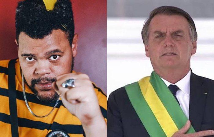 """Ex-BBB Babu Santana manda indireta para Jair Bolsonaro em nova música: """"Quero vacina, não cloroquina"""""""