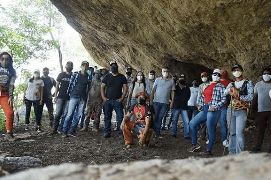 Município de Camalaú recebe equipe técnica de montagem da Rota Cariri Cultural