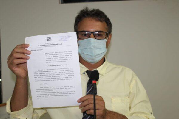 Vereador serrabranquense apresenta proposta para criação de Guarda Municipal