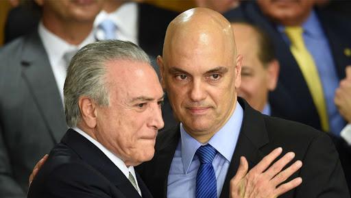 Moraes derruba decisão que tornou Temer réu na Lava Jato