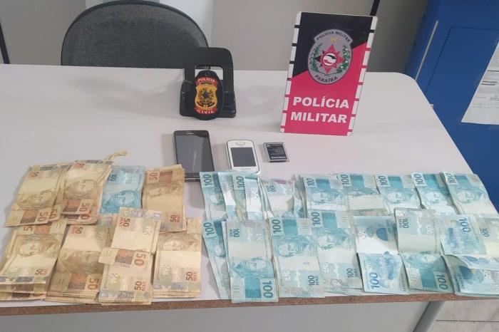 Polícias Militar e Civil recuperam dinheiro roubado em assalto forjado, no Vale do Piancó