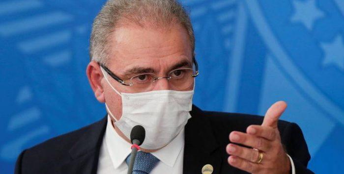 Ministro da Saúde diz que há 'dificuldades' para 2ª dose da CoronaVac e pede que estados parem de recorrer à Justiça