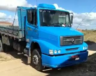 Polícia recupera em Petrolina caminhão de Monteirense que havia sido roubado em Juazeiro