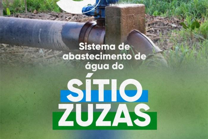 Prefeito de Ouro Velho anuncia construção de mais uma adutora na zona rural do município