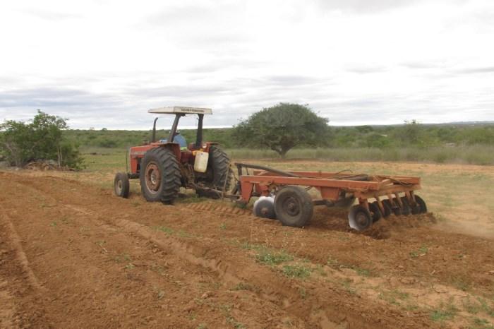 Prefeitura de Gurjão mantém cortes de terras para agricultores