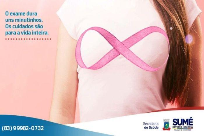 Prefeitura de Sumé realiza 240 exames de mama em três dias