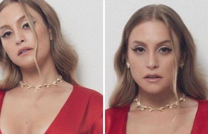 """Ex-BBB Carla Diaz dispensa sutiã e exibe lado mulher fatal com vestido sexy: """"Olha o que Arthur perdeu"""""""