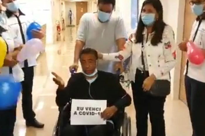 VEJA O VÍDEO: Deputado Damião Feliciano recebe alta após meses internado com Covid-19