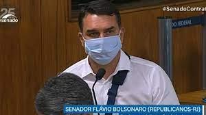 """MOÍDOS DA REDAÇÃO: """"Imagina um cidadão honesto ser preso por um vagabundo como Renan Calheiros"""", diz Flávio Bolsonaro"""