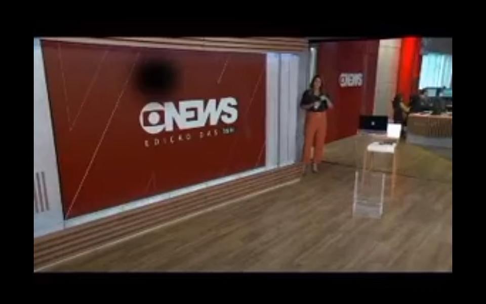 Veja o vídeo: Apresentadora da Globo News se revolta com equipe e abandona programa