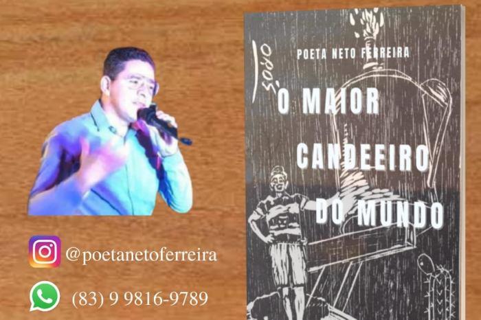 """Poeta caririzeiro lança cordel """"O Maior Candeeiro do Mundo"""""""