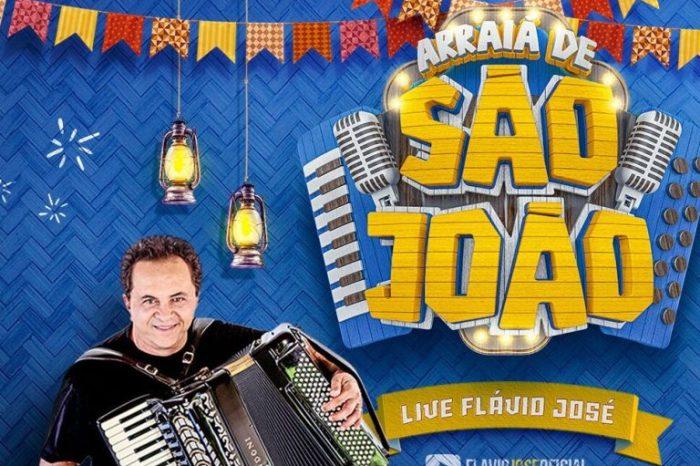 Cantor Flávio José realiza live de São João nesta quarta-feira (23)