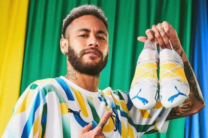 Em meio à polêmica com Nike, Neymar posta foto com chuteira da Puma