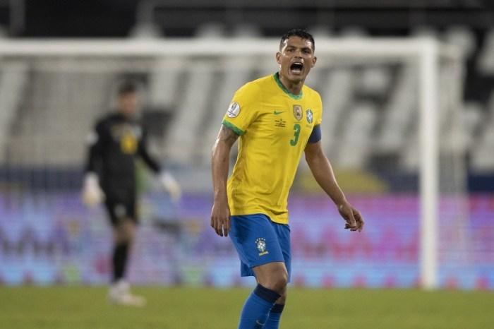 Copa América: Thiago Silva volta a ser capitão da Seleção em final e pode vencer o 30º título