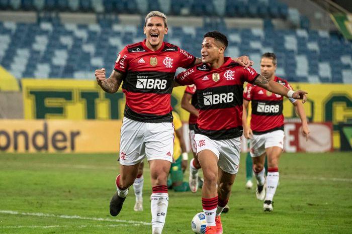 Pedro e Thiago Maia garantem vitória do Flamengo sobre Cuiabá