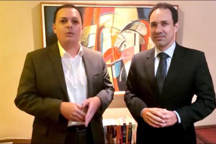 Sheyner Asfóra declara apoio à candidatura de Raoni Vita a presidente da OAB-PB