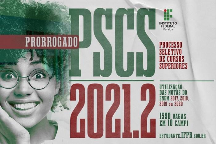 Prorrogadas as inscrições do Processo Seletivo de Cursos Superiores do IFPB, em Monteiro