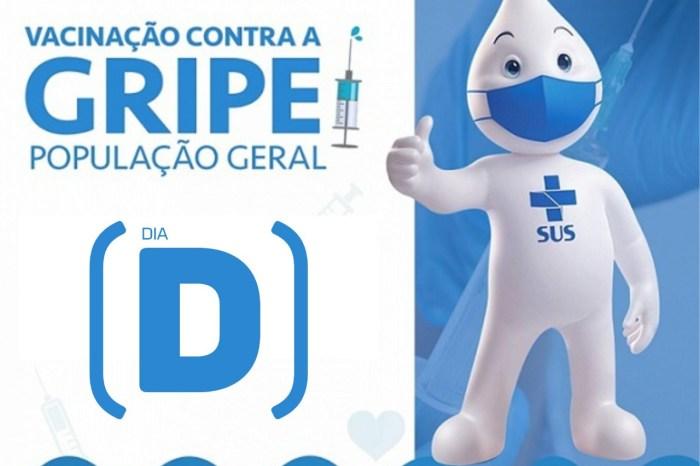 """Dia """"D"""" da vacinação contra gripe acontece neste sábado, em Monteiro"""