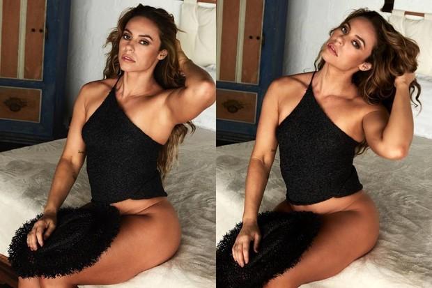 """Paolla Oliveira surge sensual em cliques na web: """"Esquentou de repente"""""""