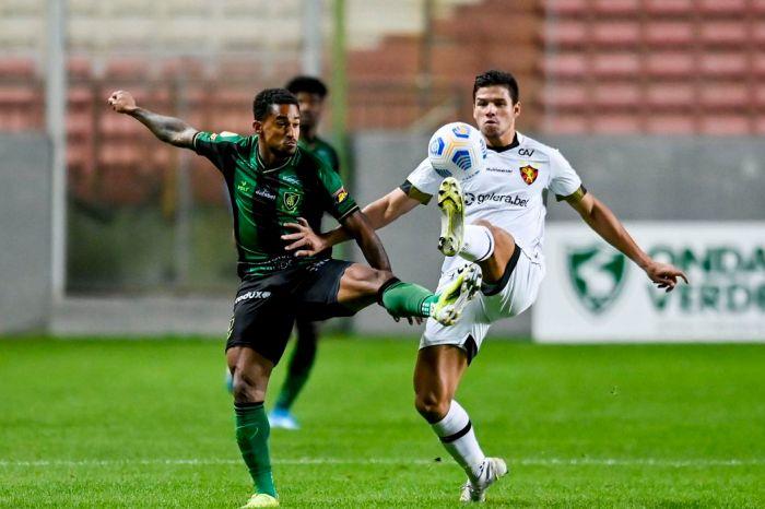 Sport bate América em Minas com gol no final da partida