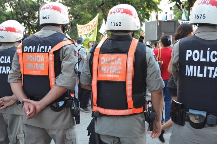 Mais de 100 suspeitos foram presos durante o fim de semana na Paraíba