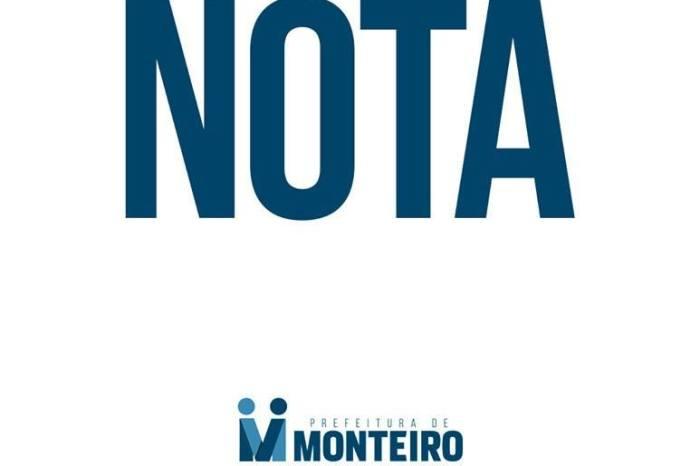 Secretaria Municipal de Esportes de Monteiro esclarece a respeito do Eco Bike