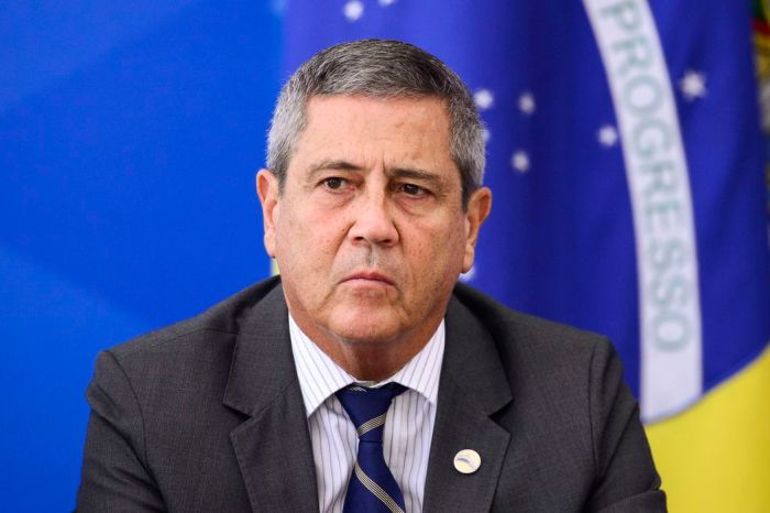 Braga Netto avisou Arthur Lira que não haverá eleições em 2022 se não houver voto impresso