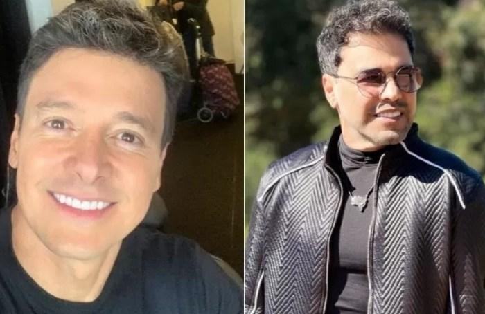 Zezé Di Camargo e Rodrigo Faro protagonizam barraco nas redes sociais