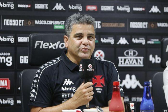 Vasco demite técnico Marcelo Cabo após empate em São Januário